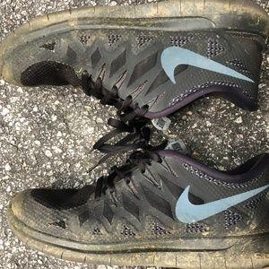Nike Free black size 9.5